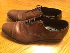 Allen Edmonds Park Avenue Men's Leather Oxfords Walnut Captoe Size 8D