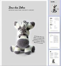Free Crochet Pattern for Zebra Amigurumi | Zebra de crochê ... | 225x208