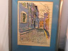 LITHOGRAPH - listed artist ROBERT E. KENNEDY