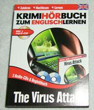 The Virus Attack. Krimihörbuch zum Englischlernen (3 CD Box, Tandem, 2011)