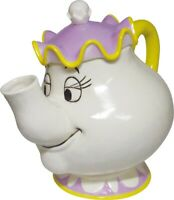 DISNEY  MRS POTTS TEAPOT FROM BEAUTY AND THE BEAST LICENSED GIFT BOX