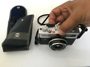 Minolta HI-MATIC F SEIKO Minolta Rokkor 1:2,7 / 38mm Objektiv 35 mm KB Kamera