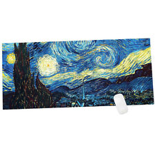 Large XL Gaming Mouse pad Starry-Night 900x400MM Keyboard Mat Laptop PC Mice Mat