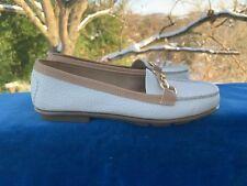 AEROSOLES Gold Buckle Oxfords Loafers Flats Stitch N Turn Womens Shoes Sz 6 👣b6