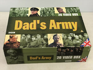 DAD'S ARMY Complete Collection 20 Video Box Set VHS Tape 1968 - 1977