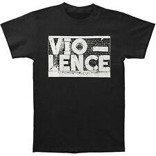 Vio-lence Banda Logo Americano San Francisco Basura Metal Música Camiseta
