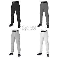 Alleson Athletic Adult Baseball Pant White Gray Black Charcoal 605wlp Unhemmed