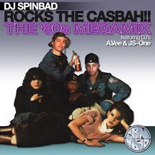 Dj Spinbad - Rocks The Casbah 80's Megamix Hip Hop, Rock & Pop Mix CD