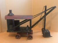 Antique 1920s BUDDY L QUALITY TOYS STEAM SHOVEL