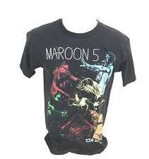 Maroon 5 Adam Levine 2015 Tour Concert Tee T-Shirt American Apparel Size Small