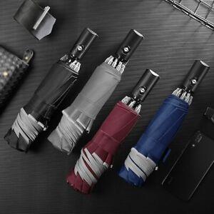 2020 New Automatic Umbrella Reverse Folding Business Umbrella With Reflective