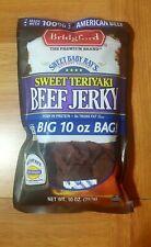 Bridgeford Sweet Baby Ray beef jerky Sweet Teriyaki Flavored 10oz Bag