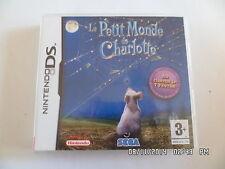 JEU NINTENDO DS : LE PETIT MONDE DE CHARLOTTE    G58