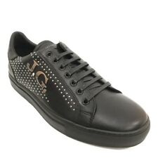 $435 John Galliano Variante Signature Sneakers Men's US 13 EU 46 Black