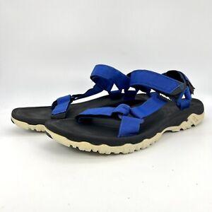 Teva Mens Blue Black Nylon adjustable Strap Sport Water Hiking Sandals Size 10