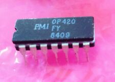 1 Pc New OP420FY PMI Quad Micropower OpAmp NOS Operational Amplifier AD