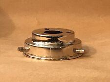 LAMP SHADE GALLERY x 1 : CHROMIUM : STEPPED [Art Deco] DESIGN