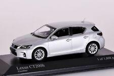 Lexus CT200h  2011 silber Minichamps 1:43 NEU/OVP