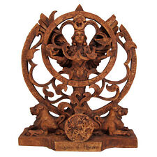 Queen of Heaven Statue - Wood Finish - Dryad Designs - Goddess Wiccan Pagan