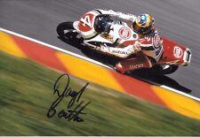 Daryl Beattie  SIGNED 12x8 Lucky Strike Suzuki RGV500   Italian GP Mugello 1995