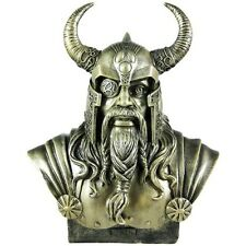 Norse God Odin Bronze Finish Bust Statue Viking
