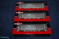 InterMountain Railway 45205-27, 39, 40 Canadian National Wet Noodle Hopper MIB *
