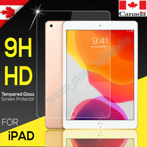 """Tempered Glass Screen Protector For iPad Pro 12.9"""" iPad Pro 11"""" 2021 2020 2018"""