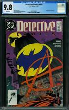 Detective Comics #608 CGC 9.8 DC 1989 1st Anarky! Joker! Batman! WP! L5 223 cm