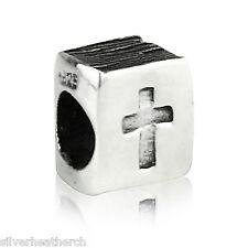 Bible Christian Sterling Silver Bracelet/Bangle Charm Bead
