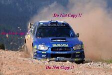 Tommi Makinen Subaru Impreza WRC2003 Acropolis Rally 2003 Photograph 3