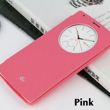 QI Wireless Quick Circle PU Leather Battery Back Case With NFC For LG G4