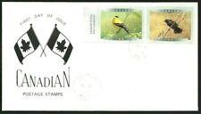 Canada  # 1771 & 1772 Pair     BIRDS OF CANADA - 4a     New 1999 Unaddressed