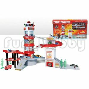 Fire Engine Hyper Rescue Command Station Model Toy