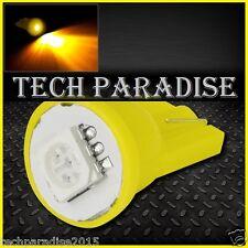 100x Ampoule T10 / W5W / W3W LED 1 SMD 5050 Jaune Yellow veilleuse lampe light