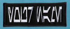 """Iron on Custom Star Wars Aurebesh Name Tag Patch - """"YOUR NAME"""""""
