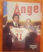 1978 CALIFORNIA ANGELS SCORECARD PROGRAM UNSCORED FREGOSI RYAN BOSTOCK BAYLOR