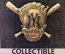 2017 HARD ROCK CAFE NEW YORK YANKEE STADIUM YANKEES 3D BASEBALL/GLOVE/BATS PIN