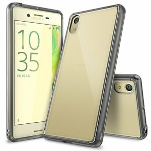 For Sony Xperia X Performance | Ringke [FUSION] Clear PC Shockproof Case Cover