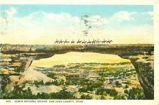 San Juan County,UT. Edwin Natural Bridge 1925