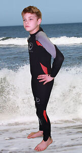 SHEERWATER Full 3MM Wet suit child/youth in 6 colors!  Size 2 to 10