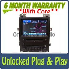 UNLOCKED CADILLAC Navigation GPS Radio 6 Disc CD DVD Changer Stereo 15896129 OEM