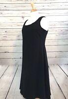 NWT Majamas Organic Cozy Black Tank Nursing Dress Stretch Shelf Bra Size XL
