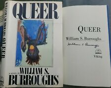 New listing William S Burroughs Queer 1985 Hardcover Book Dj First/1st Edition Naked Lunch