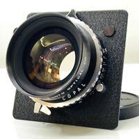 【NEAR MINT】 Fuji FUJINON W 150mm f5.6 COPAL Shutter Large Format From JAPAN 899