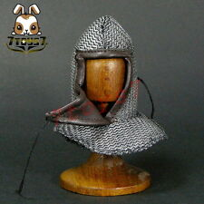 ACI Toys 1/6 ACI23 Knight Hospitaller Crusader_ Chain Mail Coif _Medieval AT072D