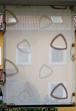 Scheibengardinen Breite  57 cm x Höhe 80 cm -  neu  - modern - Gardine - Paneel