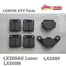 42 LONCIN ATV Parts Front and rear brake pads LX200AU LX200M Quad Spare engine
