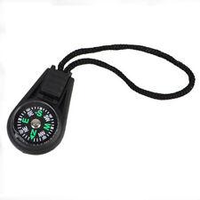 5pcs Zipper Pull Mini Compass Backpack Bag Strap Camping Travel Sport parts