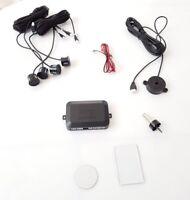 Einparkhilfe 4 Sensoren zum Nachrüsten hinten, Parkhilfe/Rückfahrwarner, Schwarz