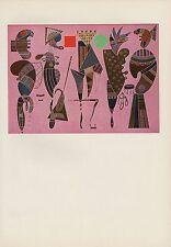 "1979 Vintage KANDINSKY /""TRAIN IN MURNAU/"" FABULOUS COLOR offset Lithograph"